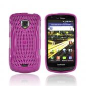 Samsung Droid Charge Hard Case - Xmatrix Purple