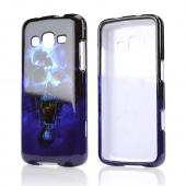 Blue Skull Hard Case for Samsung Ativ S Neo