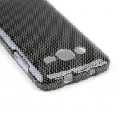 Gray/ Black Carbon Fiber Design Hard Case for Samsung Ativ S Neo