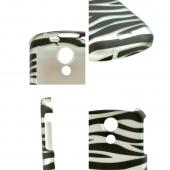 Samsung Epic 4G Hard Case - Black/White Zebra