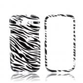 Samsung Galaxy S3 Hard Case - Silver/ Black Zebra