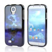Blue Skull Hard Case for Samsung Galaxy S4