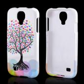 Love Tree on White Hard Case for Samsung Galaxy S4
