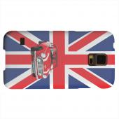 Geeks Designer Line (GDL) Samsung Galaxy S5 Matte Hard Back Cover - Solo Mini Cooper on Union Jack