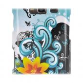 Samsung Galaxy S Blaze 4G Hard Case - Yellow Lily on White