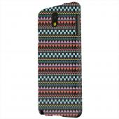 Geeks Designer Line (GDL) Samsung Galaxy Note 3 Matte Hard Back Cover - Multi-Shapes & Colors on Black