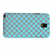 Geeks Designer Line (GDL) Samsung Galaxy Note 3 Matte Hard Back Cover - Teal/ Gray