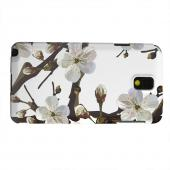 Geeks Designer Line (GDL) Samsung Galaxy Note 3 Matte Hard Back Cover - White Cherry Blossom