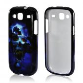 Blue Skull Hard Case for Samsung Stratosphere 3