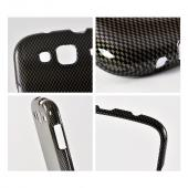 Black/ Gray Carbon Fiber Design Hard Case for Samsung Stratosphere 3