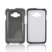 Samsung Rugby Smart i847 Hard Case - Carbon Fiber