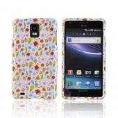 Samsung Infuse i997 Hard Case - Colorful Ice Cream Desserts on White