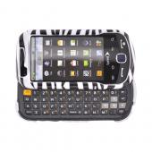 Samsung Intercept M910 Hard Case - Black/White Zebra