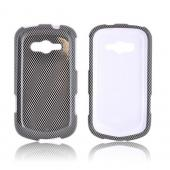 Samsung Galaxy Reverb Hard Case - Carbon Fiber Design