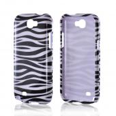 Black/ White Zebra Hard Case for Samsung Galaxy Note 2