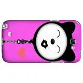 Kissycat - Geeks Designer Line Hoodie Kitty Series Hard Case for Samsung Galaxy Note 2
