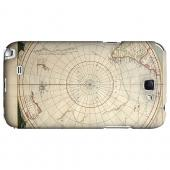 Terra Australis Incognita - Geeks Designer Line Map Series Hard Case for Samsung Galaxy Note 2