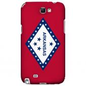 Arkansas - Geeks Designer Line Flag Series Hard Back Case for Samsung Galaxy Note 2