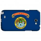 Idaho - Geeks Designer Line Flag Series Hard Back Case for Samsung Galaxy Note 2