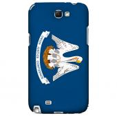 Louisiana - Geeks Designer Line Flag Series Hard Back Case for Samsung Galaxy Note 2