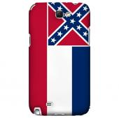 Mississippi - Geeks Designer Line Flag Series Hard Back Case for Samsung Galaxy Note 2