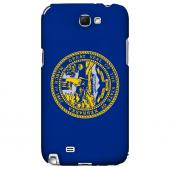 Nebraska - Geeks Designer Line Flag Series Hard Back Case for Samsung Galaxy Note 2