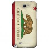Grunge California - Geeks Designer Line Flag Series Hard Case for Samsung Galaxy Note 2