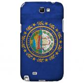 Grunge New Hampshire - Geeks Designer Line Flag Series Hard Case for Samsung Galaxy Note 2