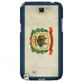 Grunge West Virginia - Geeks Designer Line Flag Series Hard Case for Samsung Galaxy Note 2