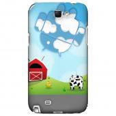 Glossy White High Impact Resistant Ultra Slim Hard Case for Samsung Galaxy Note 2
