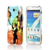 Dandy Kitties Americana Nostalgia Series Ultra Slim Hard Case for Samsung Galaxy Note 2 Geeks Designer Line