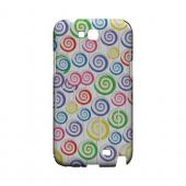 Assorted Lollipops Geeks Designer Line Candy Series Slim Hard Back Cover for Samsung Galaxy Note 2