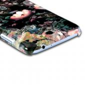 Lacy Flowers Asian Print Series Slim Hard Case for Samsung Galaxy Note 2 Geeks Designer Line