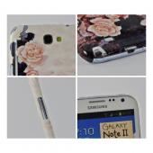 Vintage Roses Asian Print Series Slim Hard Case for Samsung Galaxy Note 2 Geeks Designer Line