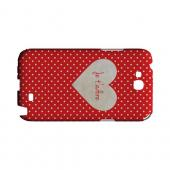 Je t'adore Geeks Designer Line Heart Series Slim Hard Case for Samsung Galaxy Note 2