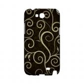Elegant Dark Vines - Geeks Designer Line Floral Series Hard Case for Samsung Galaxy Note 2