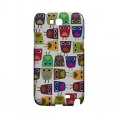 Quadrilateral Owl Configuration - Geeks Designer Line (GDL) Owl Series Hard Back Cover for Samsung Galaxy Note 2
