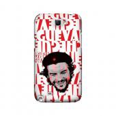 Che Guevara Happy Revolutionary on Red - Geeks Designer Line Revolutionary Series Hard Case for Samsung Galaxy Note 2