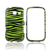 Samsung Freeform 3 Hard Case - Green/ Black Zebra