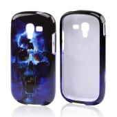 Blue Skull Hard Case for Samsung Galaxy Exhibit
