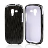Gray Carbon Fiber Design Hard Case for Samsung Galaxy Exhibit