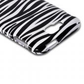 White/ Black Zebra Hard Case for Samsung ATIV S T899