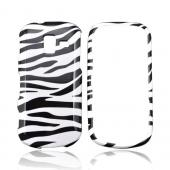 Samsung Intensity III Hard Case - Black/ White Zebra