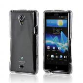 Transparent Clear Hard Case for Sony Xperia TL