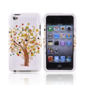 Apple iPod Touch 4 Plastic Case - Tree Design