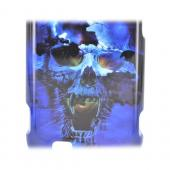 ZTE Fury N850 Hard Case - Blue Skull