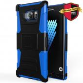 Samsung Galaxy Note 7 Holster Case, REDshield [Blue] Supreme Protection Hard Plastic on Silicone Skin Dual Layer Hybrid Case