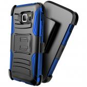 Samsung Galaxy S7 Active Holster Case, REDshield [Blue] Supreme Protection Hard Plastic on Silicone Skin Dual Layer Hybrid Case