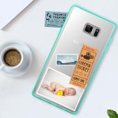 Samsung Galaxy Note 7  Case, REDshield [Mint]  Crystal Clear Back Bumper Case [Drop Protection] Flexible Border Case