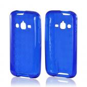 Argyle Blue Crystal Silicone Case for Samsung Galaxy Rugby Pro